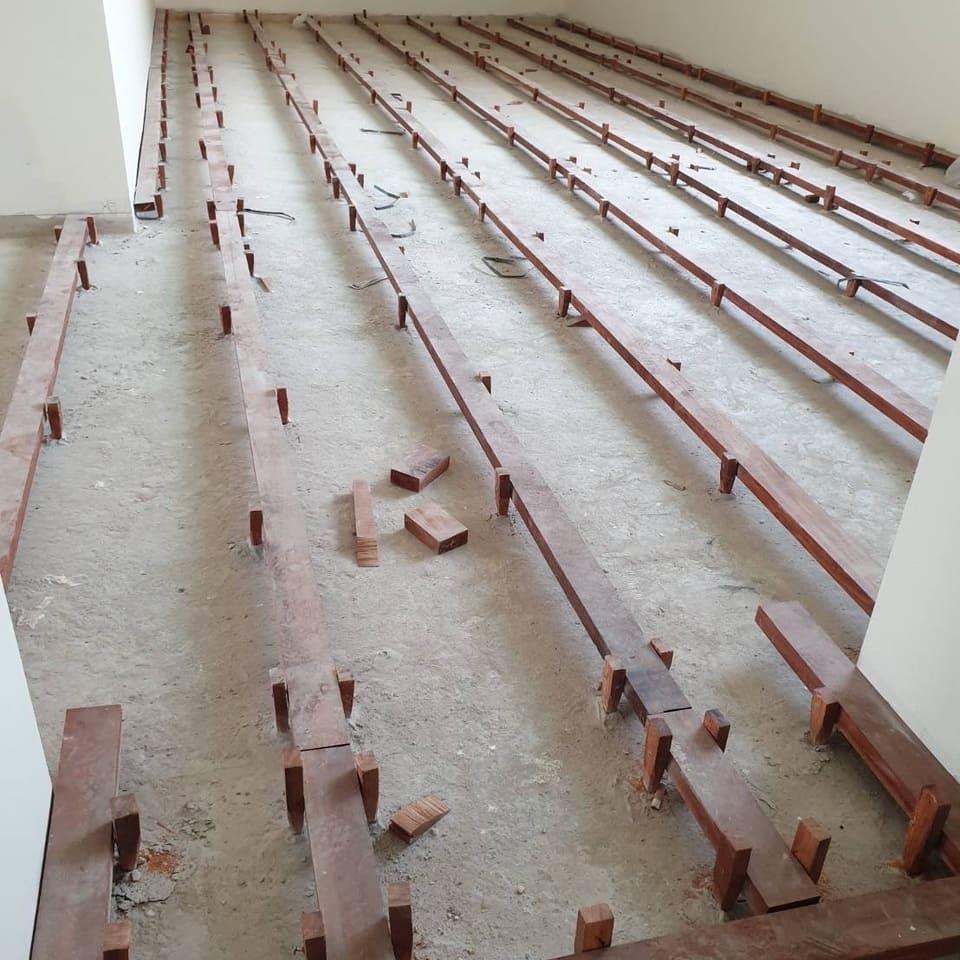 งานโครงสร้างและตงไม้แดง
