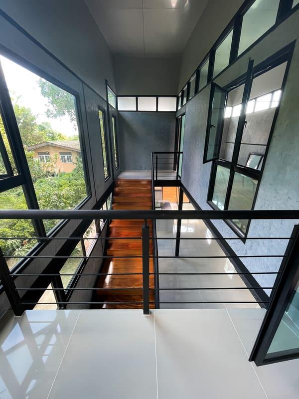 บันไดไม้เต็ง-K.LEK'S HOUSE4