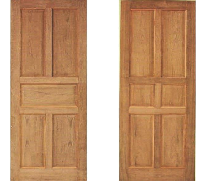 ประตูไม้ ชุด 1