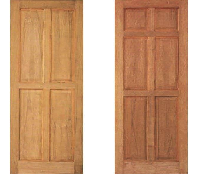ประตูไม้ ชุด 4