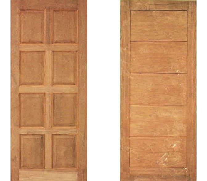 ประตูไม้ ชุด 6