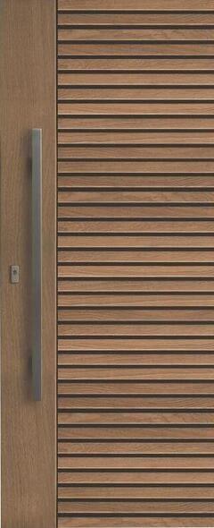 ประตูไม้ D022