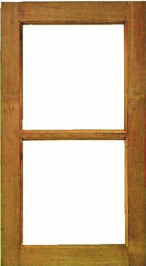 หน้าต่างไม้W001