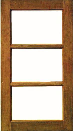 หน้าต่างไม้W002