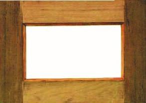 หน้าต่างไม้W005
