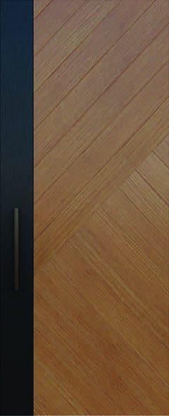 ประตูไม้ D023